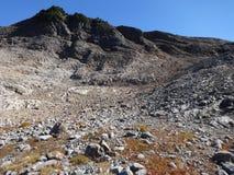 Formação de rocha vulcânica, Washington Imagem de Stock