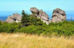 Formação de rochas Fotos de Stock Royalty Free