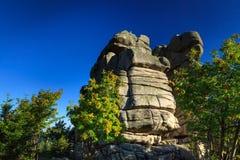 Formação de rochas Foto de Stock