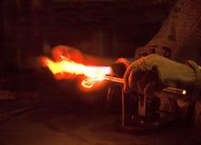Formação de Rod de vidro Fotos de Stock Royalty Free
