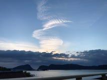 Formação de vista fresca da nuvem Fotografia de Stock Royalty Free
