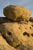 Formação do arenito no parque Montana de Zimmerman Fotos de Stock Royalty Free