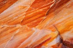 Formação e textura de rocha Fotos de Stock Royalty Free