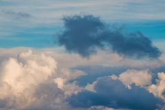 Formação escura da nuvem Foto de Stock Royalty Free