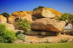 Formação original da montanha em Hampi, Índia Imagem de Stock Royalty Free