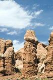 Formação Phallic do parque nacional dos arcos Fotografia de Stock Royalty Free