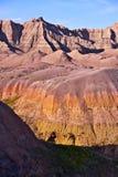 Formações coloridas do ermo Imagem de Stock