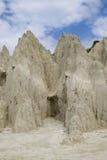 Formações corrmoídas da argila Foto de Stock