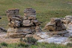 Formações da cidade da rocha fotografia de stock