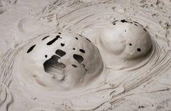 Formações da lama imagens de stock royalty free