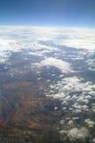 Formações da nuvem. imagem de stock