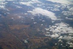 Formações da nuvem. fotografia de stock