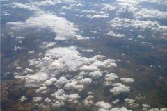 Formações da nuvem. imagens de stock royalty free