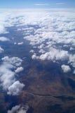 Formações da nuvem. foto de stock royalty free