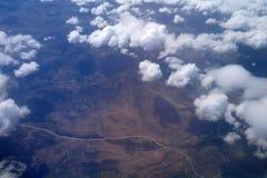 Formações da nuvem. imagens de stock