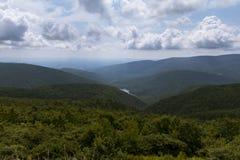 Formações da nuvem sobre o parque nacional de Shenandoah Imagem de Stock Royalty Free