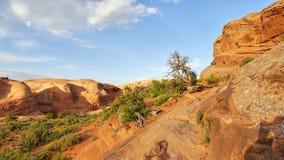 Formações das torres e do arenito da rocha Imagens de Stock