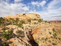 Formações das torres e do arenito da rocha Fotos de Stock