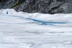 Formações de gelo Foto de Stock
