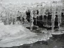 Formações de gelo foto de stock royalty free