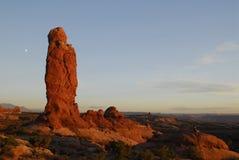 Formações de rocha Fotos de Stock Royalty Free