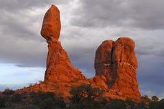 Formações de rocha imagens de stock