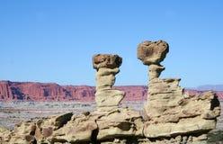 Formações de rocha Fotografia de Stock