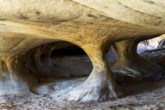 Formações de rocha Foto de Stock