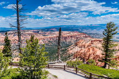 Formações de rocha coloridas em Bryce Canyon National Park, U do azarento Foto de Stock
