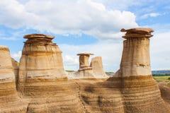 Formações de rocha da pedra calcária em Alberta Fotografia de Stock Royalty Free