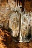 Formações de rocha das cavernas de Carlsbad imagens de stock