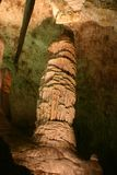 Formações de rocha das cavernas de Carlsbad fotografia de stock