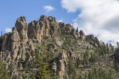 Formações de rocha de Black Hills foto de stock