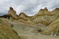 Formações de rocha do Alcazar de Cerro em Argentina foto de stock royalty free