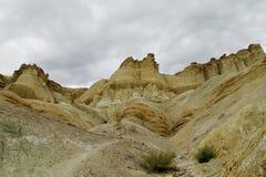 Formações de rocha do Alcazar de Cerro em Argentina Fotografia de Stock