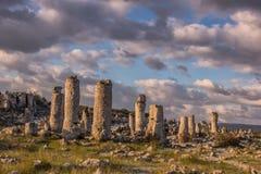 Formações de rocha do fenômeno imagens de stock royalty free