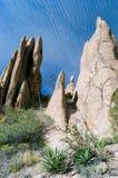 Formações de rocha do Hoodoo Imagem de Stock
