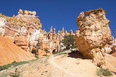 Formações de rocha em Bryce Canyon National Park, Utá Fotos de Stock Royalty Free