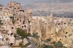 Formações de rocha em Capapdocia, Turquia fotografia de stock royalty free