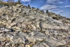 Formações de rocha HDR de Powillimount Fotografia de Stock Royalty Free