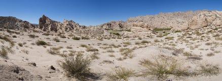 Formações de rocha perto de Cachi no Ruta 40, Argentina Imagem de Stock Royalty Free