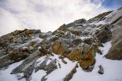 Formações de rocha raras Foto de Stock