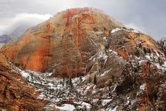Formações de rocha vermelhas imagens de stock royalty free
