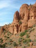 Formações de rocha vermelhas em Sedona, o Arizona Fotos de Stock Royalty Free