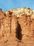 Formações de rocha vermelhas em Sedona, o Arizona Imagem de Stock Royalty Free