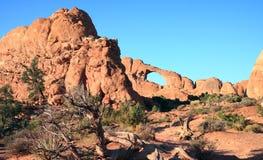 Formações do Sandstone vermelho fotografia de stock royalty free