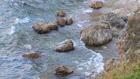 Formações rochosas video estoque