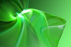 Forma 3D abstrata Fotografia de Stock
