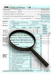 2013 forma 1040 Immagine Stock Libera da Diritti