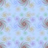 Forma abstracta con la línea geométrica Art Seamless Pattern Imágenes de archivo libres de regalías